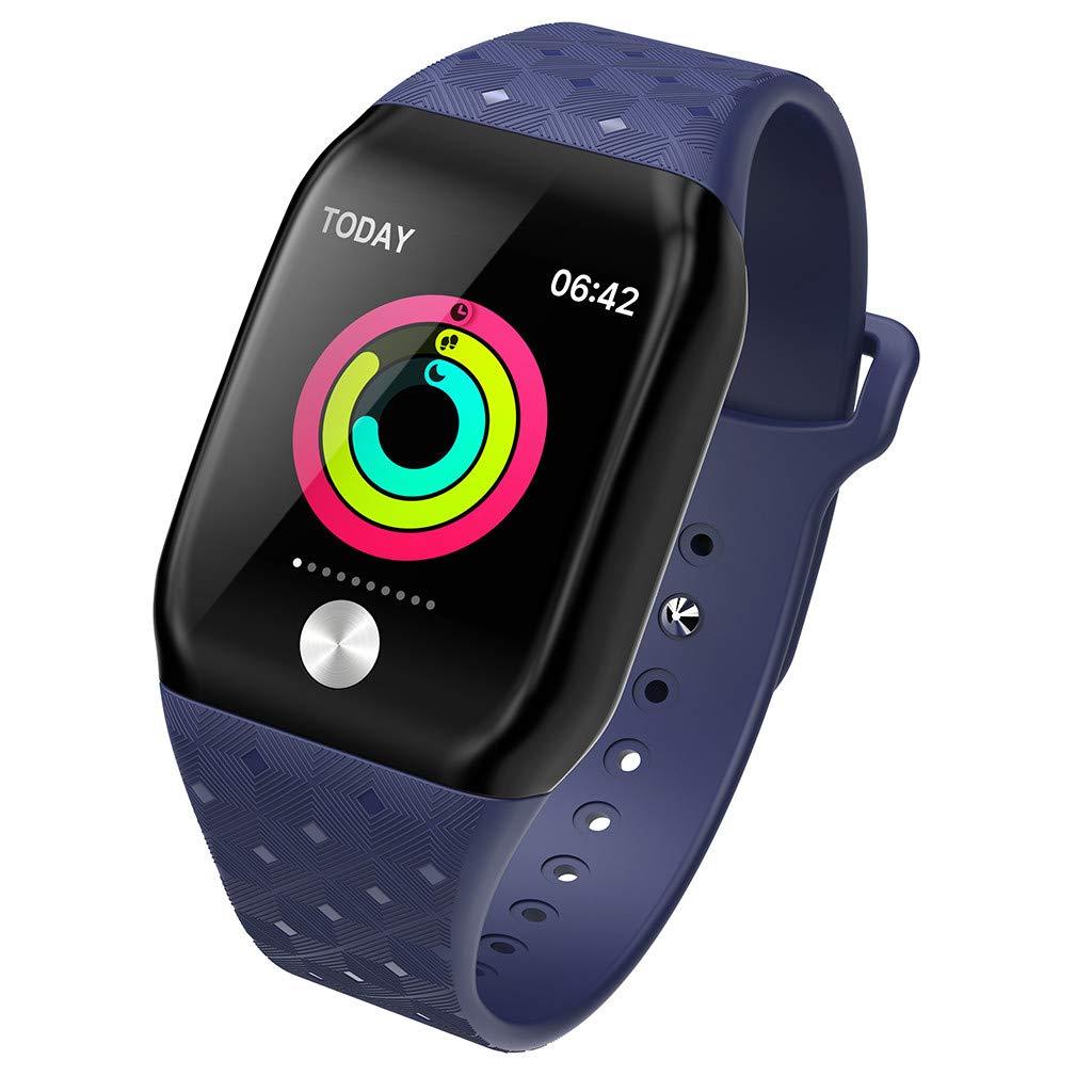 Smart Bracelet Sports Fitness Activity Heart Rate Tracker Blood Pressure Bracele Lightweight Wrist Watch