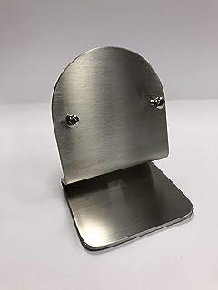 Soporte de termostato Nest de 3 mm y 3ª generación de acero inoxidable cepillado con patas