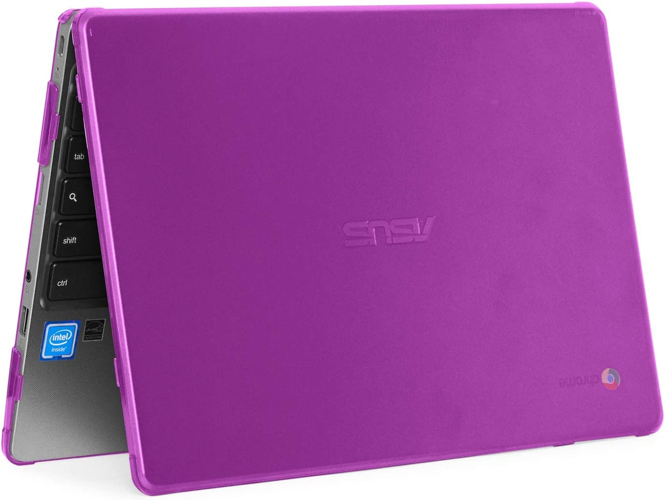 mCover Hard Shell Case for 2019 11.6-inch ASUS Chromebook C223NA/CX22NA Series Laptop (Purple)