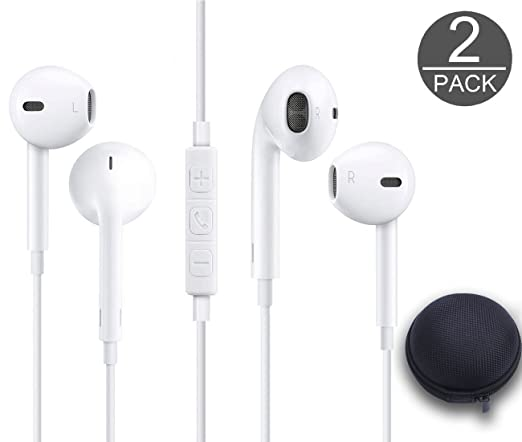 a943618f864 KZ Electronics Wired 3.5MM Snow White Earphone/Earbuds/Headphones +1 Carry  Case