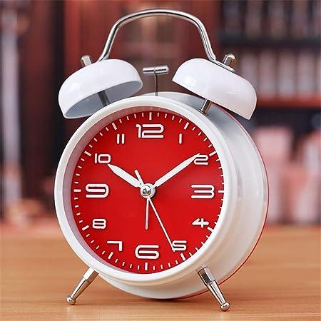 JIAOZIHAO Despertador De Metal Pequeño Reloj Clásico , D Modelos ...