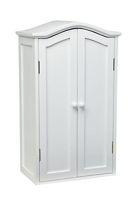 White Wood Furniture   18u0026quot; Doll Armoire Storage Trunk Made For American  Girl Doll Clothes