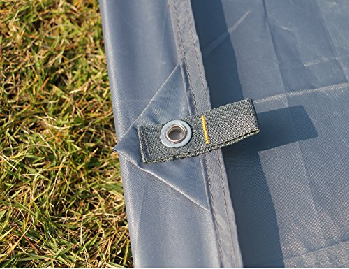 Luxe Tempo All Purpose Tent Tarp Footprint for Floor Saver Picnic Blanket Easy Rain Cover Sun Shelter for Hammock-Waterproof Lightweight