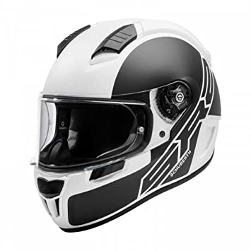 Schuberth SR2 deportes cara completa casco de moto – tracción blanco M