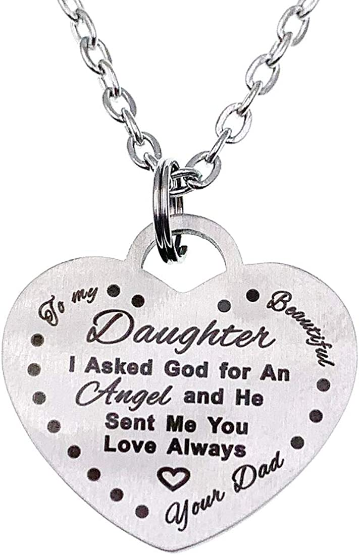 Girls Maxforever Girls Jewelry You are My Sunshine Necklace Gift for Daughter Niece