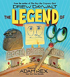 Book Cover: The Legend of Rock Paper Scissors