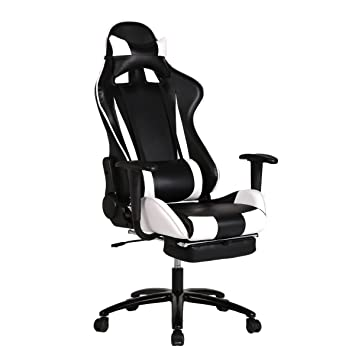 Office Chair High-back Recliner Office Chair Computer Chair Ergonomic Design Racing Chair  sc 1 st  Amazon.com & Amazon.com: Office Chair High-back Recliner Office Chair Computer ... islam-shia.org