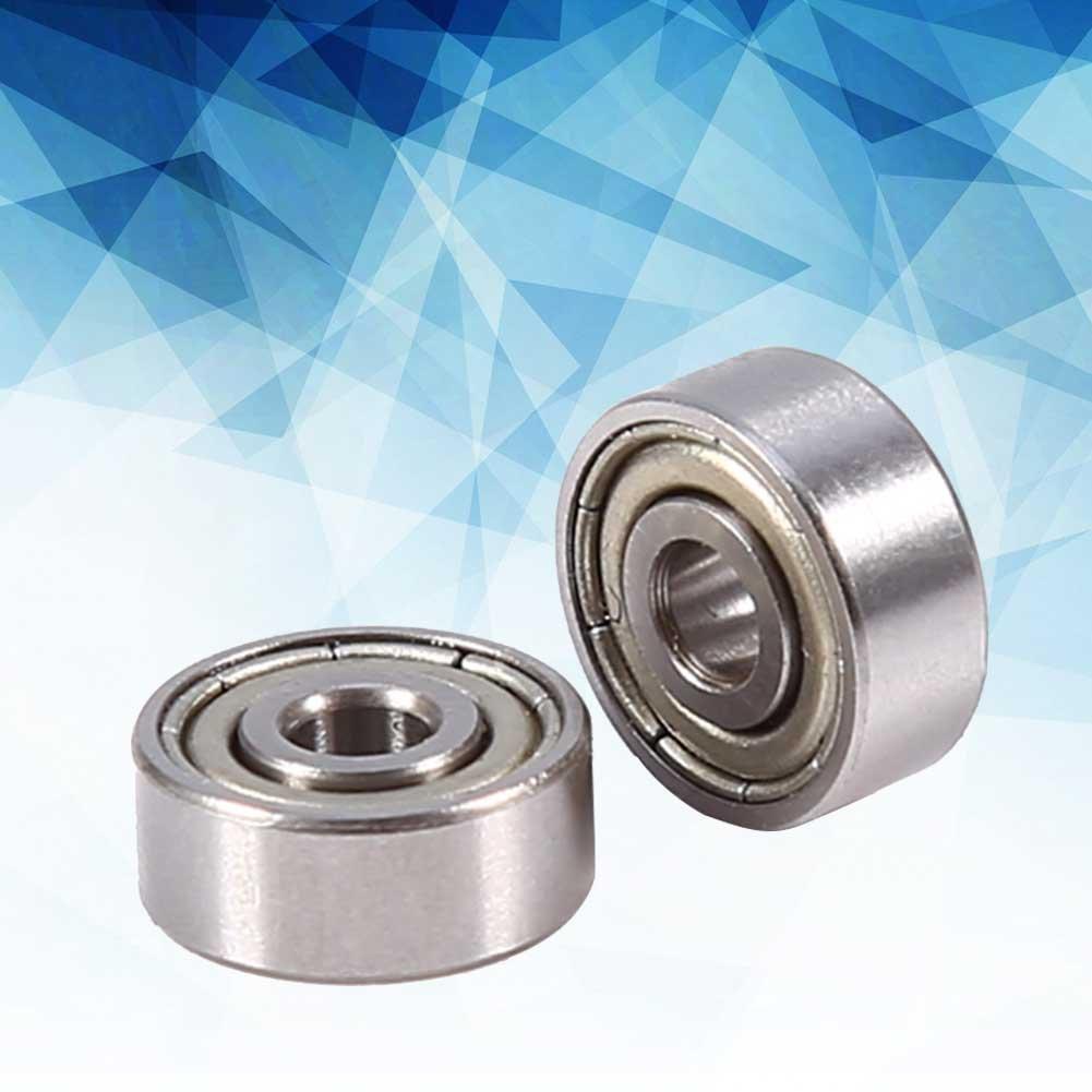 Roulements blind/és roulements scell/és m/étriques 623ZZ blind/és en acier chrom/é carbone 10pcs 3x10x4mm
