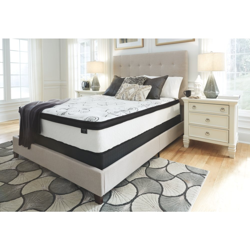 Ashley Furniture Signature Design - 12 Inch Chime Express Hybrid Innerspring - Firm Mattress - Bed in a Box - Queen - White by Signature Design by Ashley (Image #4)