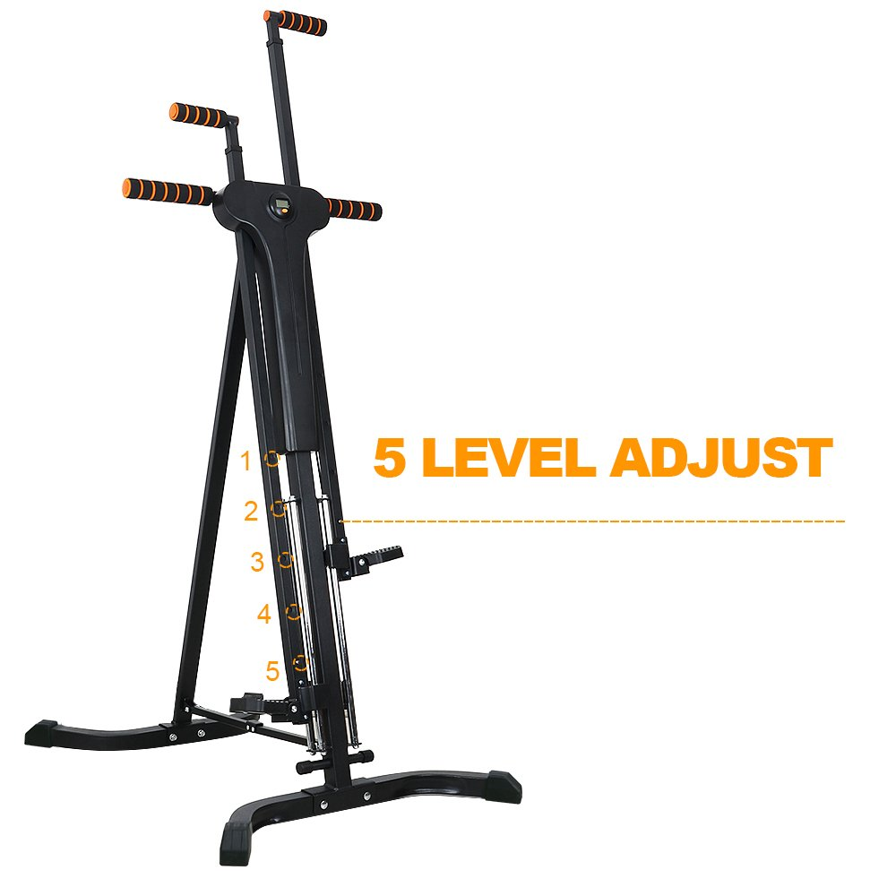 Rxlife Vertical Climber Cardio Exercise Folding Climbing Machine for Home Gym Step Climber Exercise Fitness by Rxlife (Image #5)