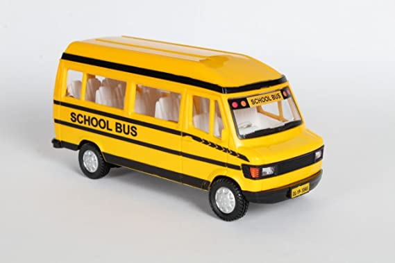Centy Toys TMP School Bus  Multicolour  Toy Vehicles   Accessories