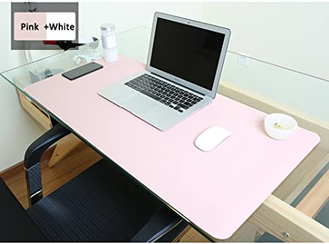 Charmant Mirstan Large Desk Mouse Pad, 31.5 X15.8 Inches Non Slip PU Leather