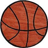 LA Rug Basketball Rug 39'' RD