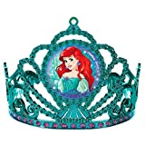 "Amscan Girls Enchanting Disney Ariel Dream Big Birthday Electroplated Tiara (Pack of 1), Multicolor, 3 1/""2 x 4 1/2"