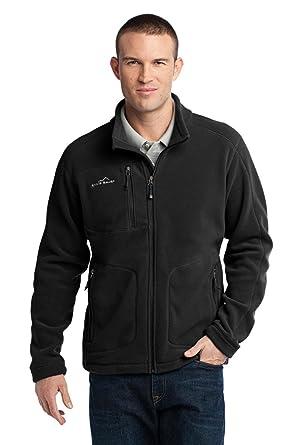 Eddie Bauer - Wind-Resistant Full-Zip Fleece Jacket at Amazon ...
