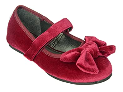 74d641e216e Chatterbox Infant Girls Mary Jane Ballerina Party Shoes Kids Size 6 to 12  (6 Child