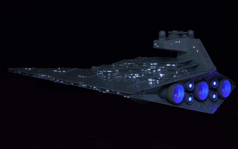 Star Wars Imperial Star Destroyer Fiber Optic Lighting Set For Zvezda 9057 Model Kit 1/2700