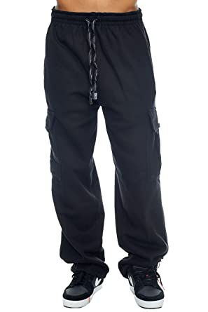 c94cba67c9 Image Unavailable. Image not available for. Color: Pro Club Cargo Sweat  Pants 13oz Heavy Weight ...