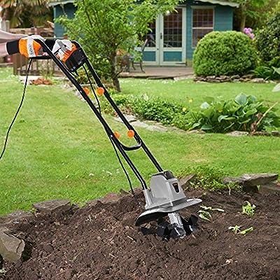 VonHaus-Electric-1050W-Tiller--Garden-Soil-CultivatorRotavator-32cm-Cutting-Width