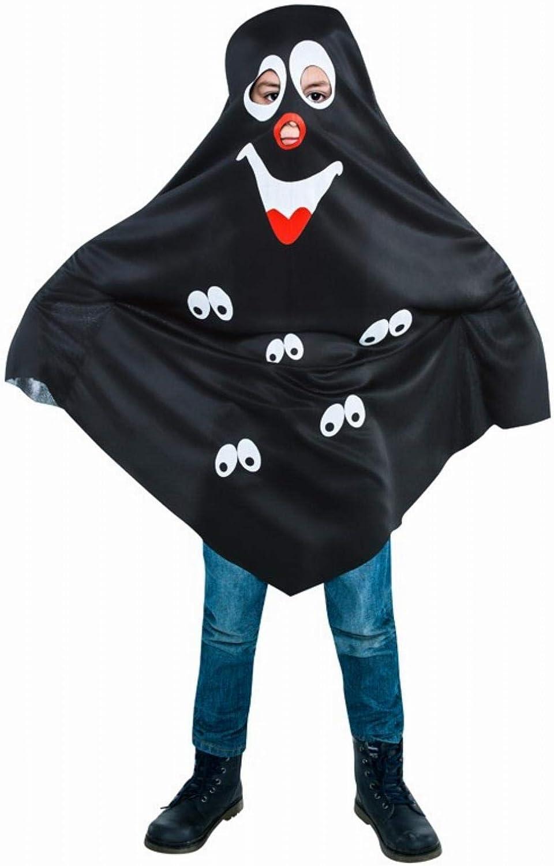 Disfraz de Fantasma negro para niño: Amazon.es: Juguetes y juegos