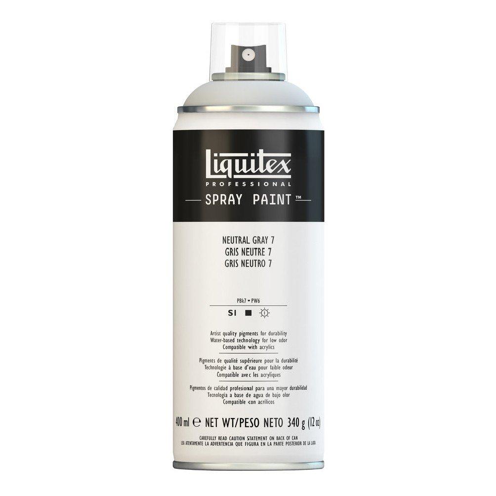 Liquitex プロフェッショナル スプレーペイント 12オンス 400ml Can 4457599 B008N7HOV0 Neutral Grey 7 Neutral Grey 7