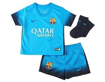 f2211e01e 2015-2016 Barcelona Third Nike Baby Kit