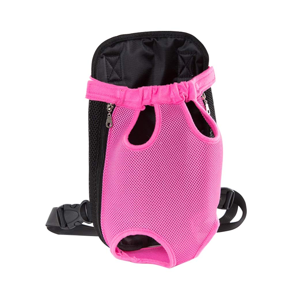 L(45.5KG) Pet Carrier Backpack Soft Canvas Dog Carrier Pack with Mesh Travel Pet Face Backpack to Hold Puppies Dogs Cats,with Tail Hole Hands-Free Walking, Travel