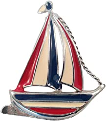 Happy Avenue Vintage Jewelry for Sea Lovers, Beautiful Brooches and Pins Ahoy Collection