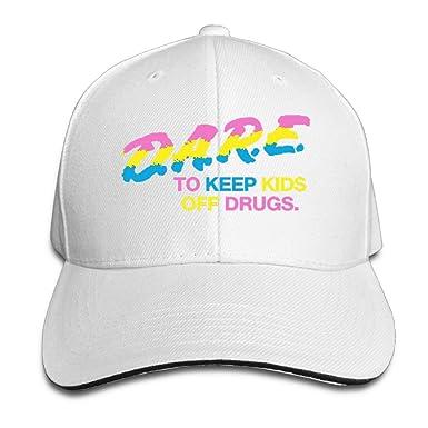 43bac50867964 Unisex Black And Neon DARE Baseball Cap at Amazon Men s Clothing store