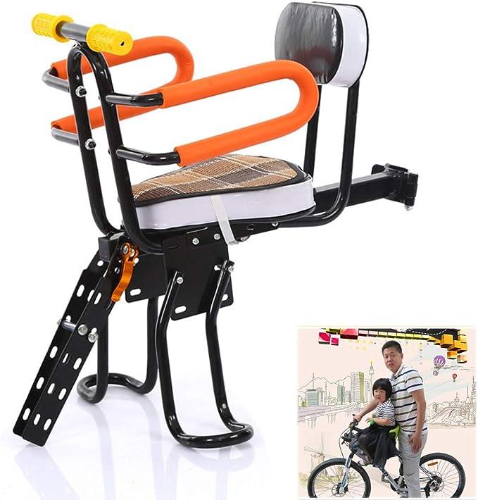 Comfort Kinder Fahrrad Sitz Kinderfahrradsitz Fahrrad Kindersitz Vorne bis 50kg