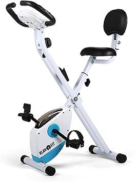 Klarfit X-Bike 700 Bicicleta estática ergómetro pulsómetro ...