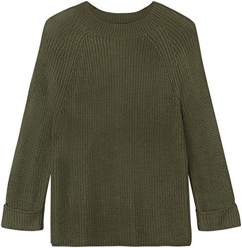 FIND Jersey Grueso para Mujer Verde (Khaki)