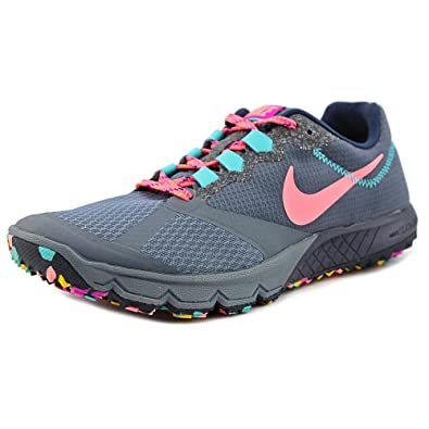 new arrival 16088 d28e8 Nike Air Zoom Wildhorse 2 Women US 5.5 Gray Running Shoe Amazon.co.uk  Shoes  Bags