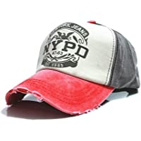 Mengonee Equipado gorro sombrero de Hip Hop Gorras Caps Unisex Hombre gorra de béisbol de algodón