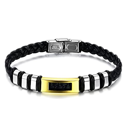 Amazon.com: Cebra, color dorado pulsera de acero inoxidable ...