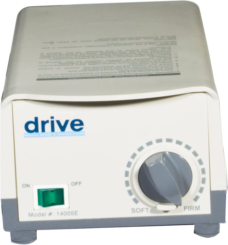 Drive Medical Med Aire Alternating Pressure Pump and Pad System, Variable Pump: Health & Personal Care