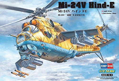 Hobby Boss Mi-24V Hind-E Airplane Model Building ()