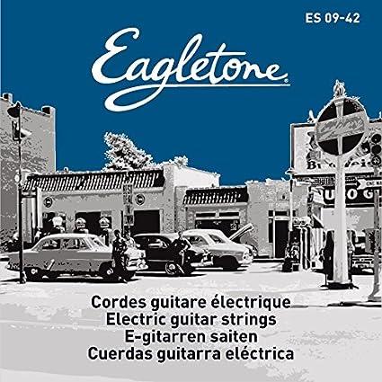 Amazon.com: EAGLETONE ES 09-42 Extra Light Gauge Electric Guitar Strings 09-42: Musical Instruments