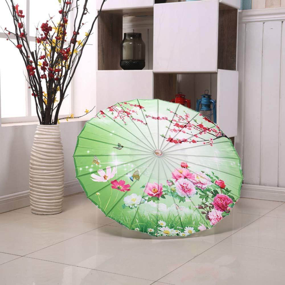 Parapluie en Papier D/écoratif /à lhuile pour la Danse Classique Cheongsam Effectuant des Parapluies de Photographie Paysage Chinois Poseca Parasol