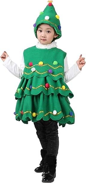Xiemushop Disfraz de arbol de Navidad de los ninos Traje de ...