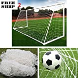 2 X 10X6.5Ft Full Size Football Soccer Goal Net Sports Match Training (No Post)
