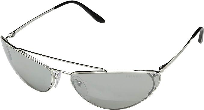 Prada 1BC1I2 Gafas de sol, Silver, 66 para Mujer: Amazon.es ...