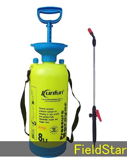 Fieldstar 8-Litre Plastic Manual Sprayer (color may vary)