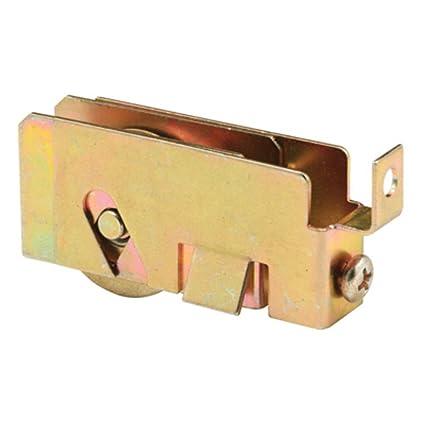 CRL - Rodillo de puerta corredera de acero de 3,81 cm de ancho para