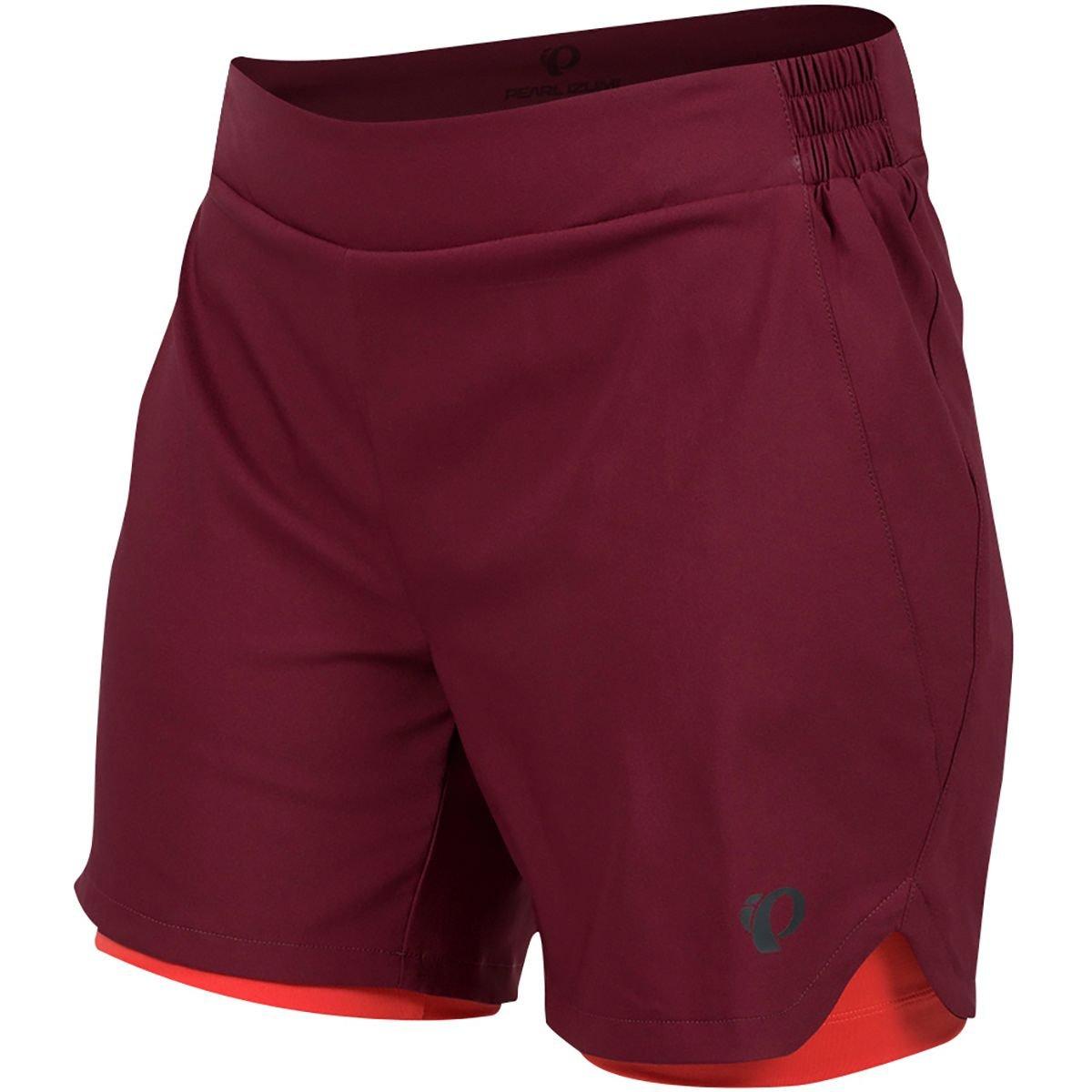 Pearl iZUMi W Journey Shorts, Port/Cayenne, 2