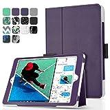TNP iPad 9.7 Inch 2017 Case / iPad Air 1 Case - Corner Protection Premium PU Leather Folio Smart Cover w/ Auto Sleep / Wake for iPad 9.7 In 2017 Release, iPad Air 1 (Purple)