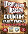 Party Tyme Karaoke - Country Party Pack 6 [4 CD][64-Song Party Pack]