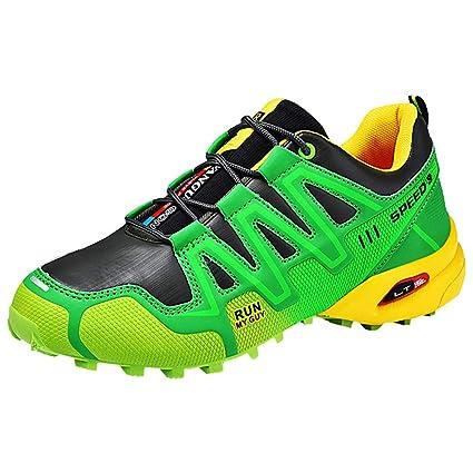 ba1c162b52321 Amazon.com: Men Breathable Sneakers,Mosunx Athletic Boys Lace Up Low ...