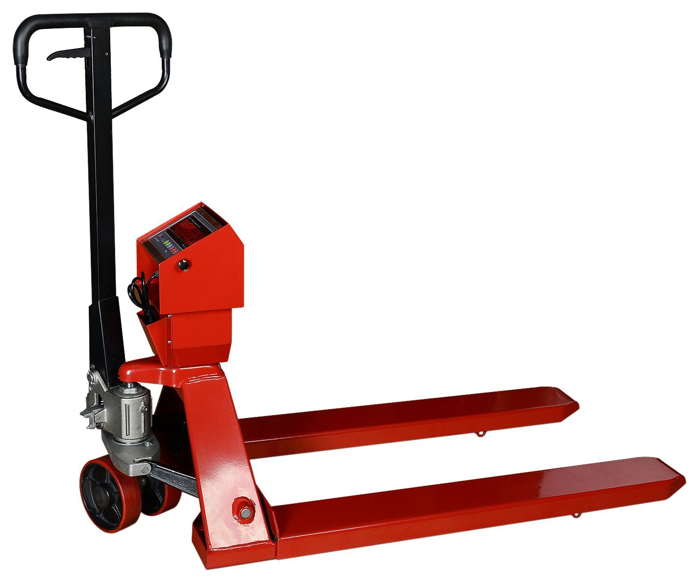 Prime Scales Pallet Truck Scale/Jack Scale with PS-IN202SS Indicator, 5000lb