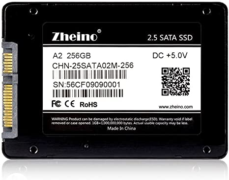 Zheino A2 2.5 Pulgadas SATA III 2D MLC SSD 256GB Interno Disco ...